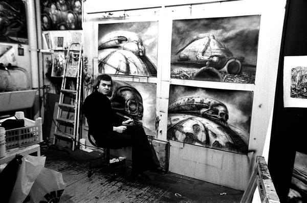 Obras de arte de H. R. Giger para Dune.