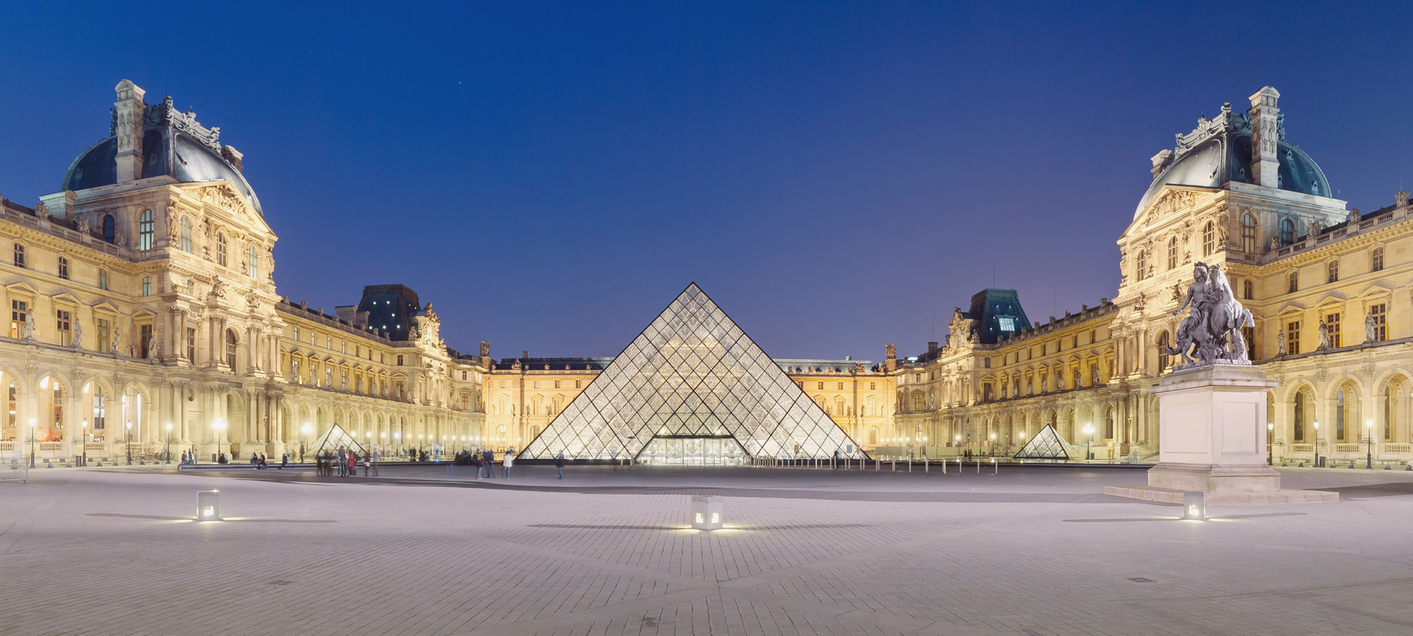 Museo del Louvre, París. La exposición de arte más grande de Francia.