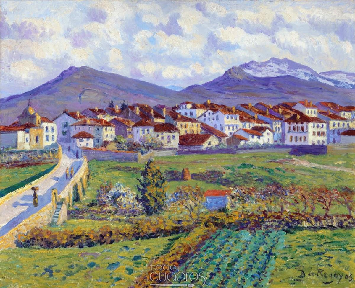 Dar o de regoyos obras de arte todocuadros - Pintores en asturias ...