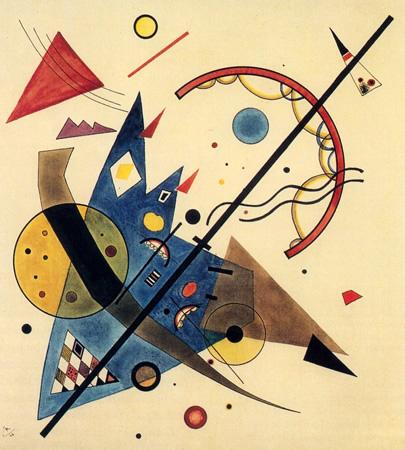 Wassily Kandinsky, obras de arte colorido, pintor ruso Arco-punta-kandinsky