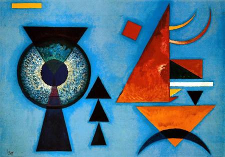 Wassily Kandinsky, obras de arte colorido, pintor ruso Blando-duro-kandinsky