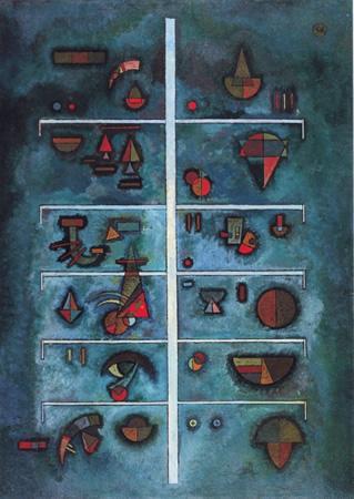 Wassily Kandinsky, obras de arte colorido, pintor ruso Pisos-kandinsky