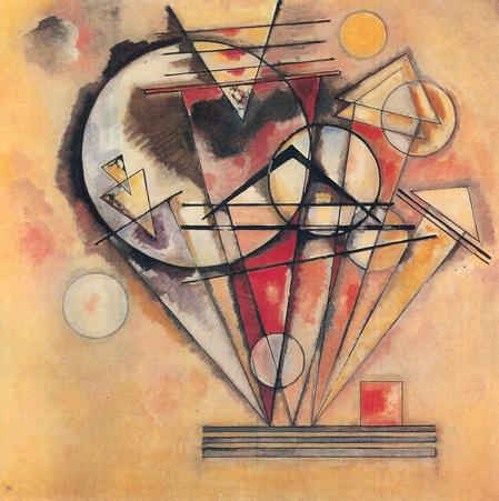 Wassily Kandinsky, obras de arte colorido, pintor ruso Sobre-puntas-kandinsky-v2
