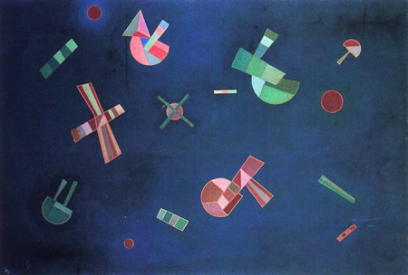 Wassily Kandinsky, obras de arte colorido, pintor ruso Vuelo-captado-kandinsky