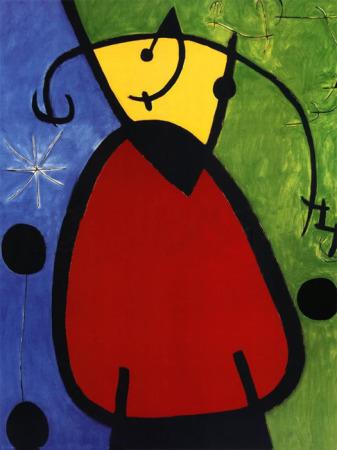 Cuadros Famosos Faciles.Joan Miro Obras De Arte Todocuadros