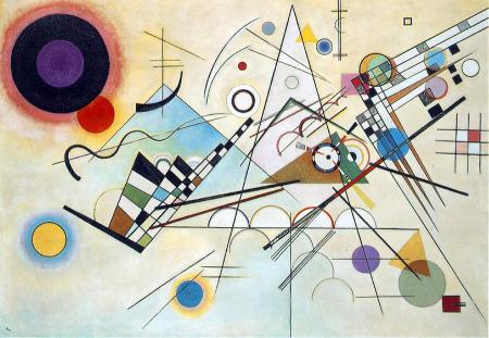Resultado de imagen de cuadros kandinsky