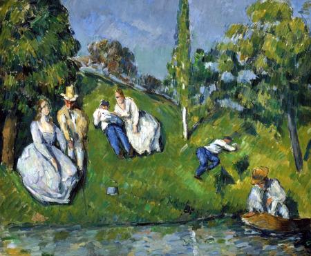 Paul c zanne obras de arte pintor impresionista for Pintura para estanques