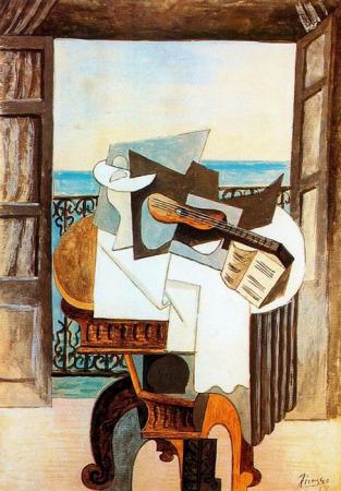 Mujer ante el Espejo por Pablo Picasso - panamartenet