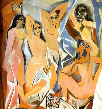 Picasso, el arte de convertirse en un genio Senoritas-avignon-picasso