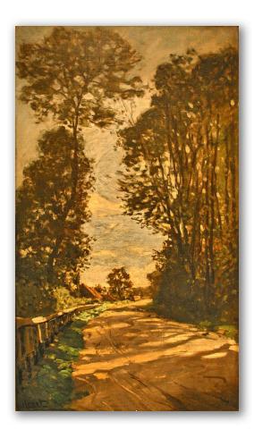 Road to the Saint Siméon Farm