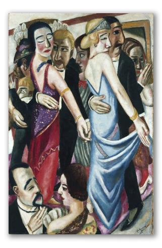 """Cuadro """"Salón de baile en Baden-Baden"""""""