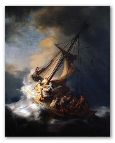 """Obra """"La tormenta en el mar de Galilea"""""""