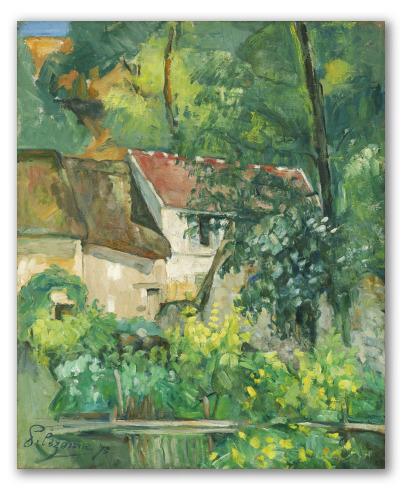 """Cuadro """"Casa de Père Lacroix"""""""