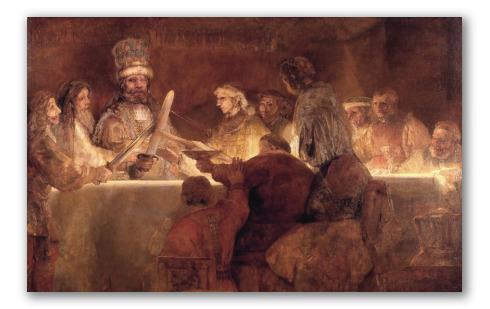 """Obra """"La conspiración de Claudius Civilis"""""""