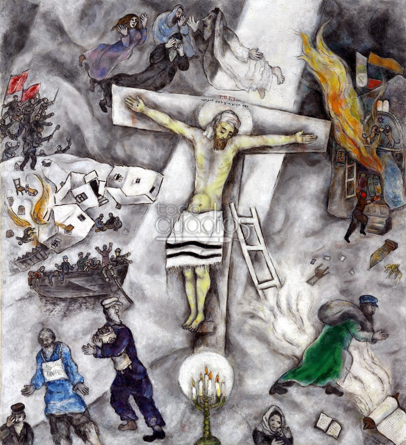 Crucifixión de Chagall