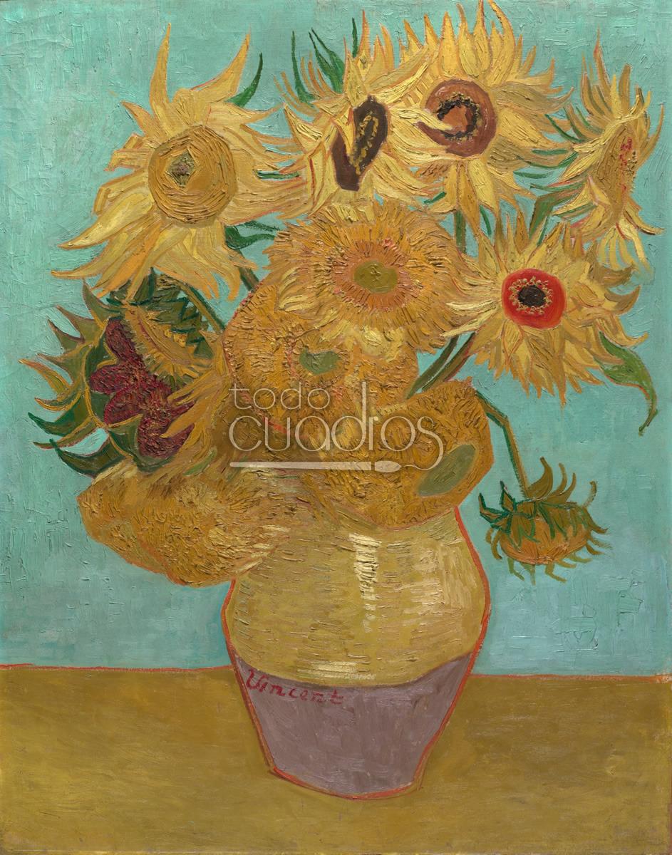 Resultado de imagen para Fotos de Los Girasoles, de Vincent van Gogh
