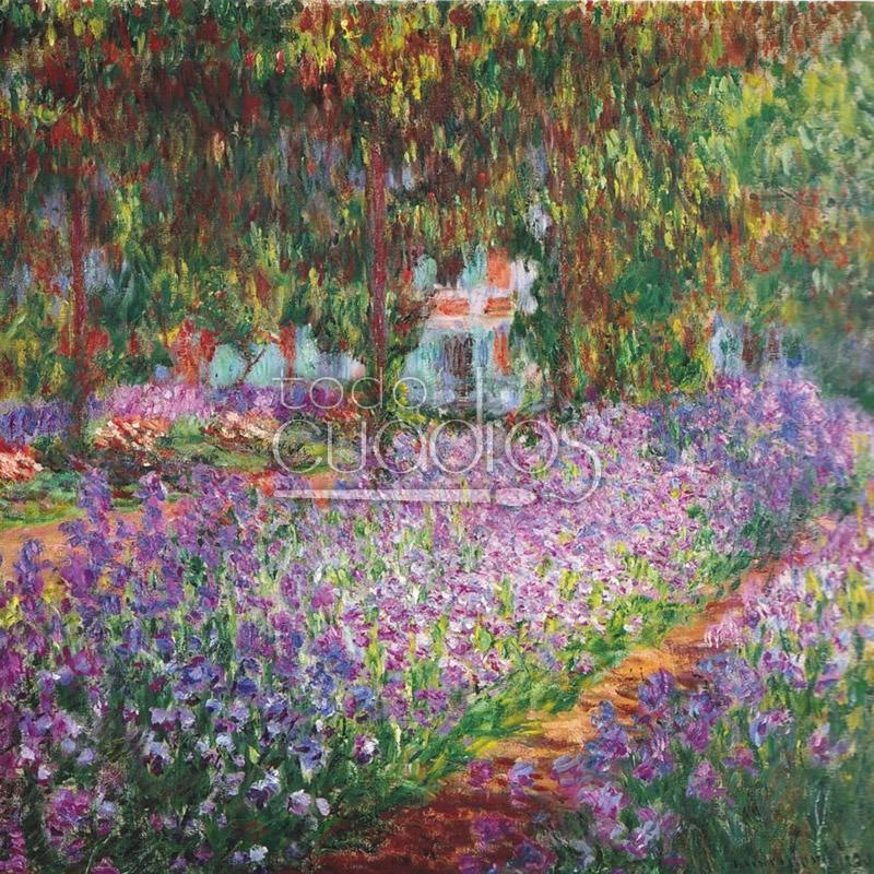 El jard n del artista en giverny de monet cuadro de for El jardin de luz ibiza