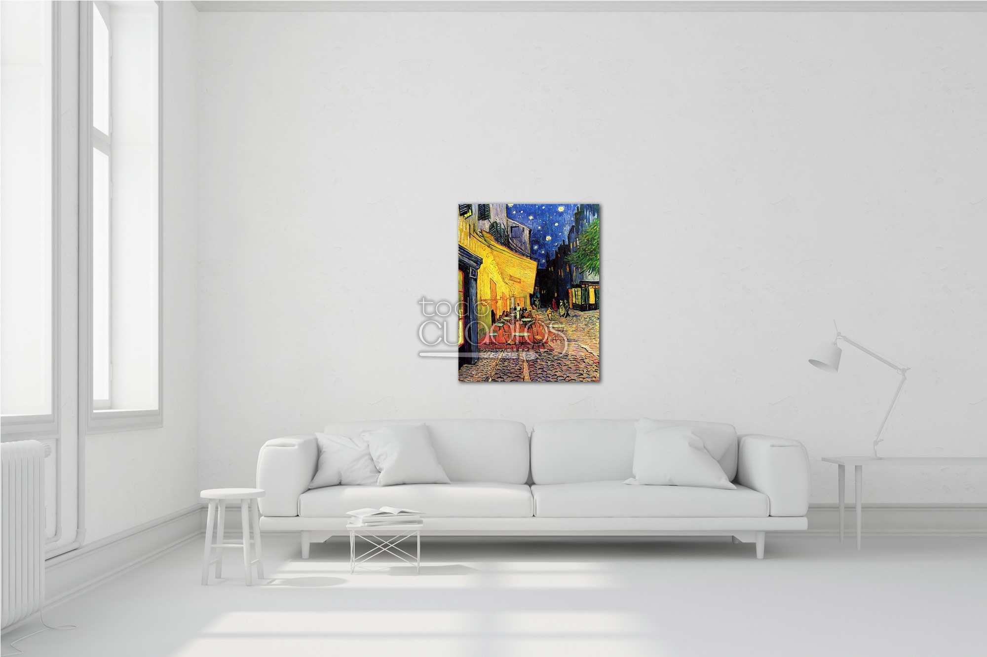Terraza De Café Por La Noche Van Gogh