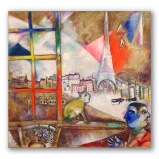 París a través de la ventana