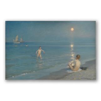 Niños Bañándose en Skagen - P. S. Krøyer
