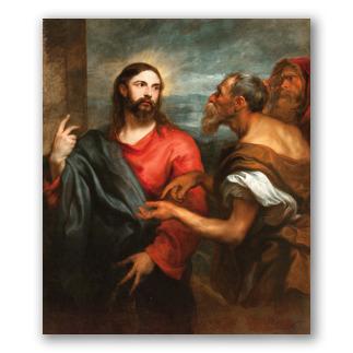 Cristo de la Moneda - A. Van Dyck