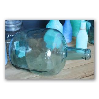 Garrafa de vidrio abombada 8 litros. Blown D1101