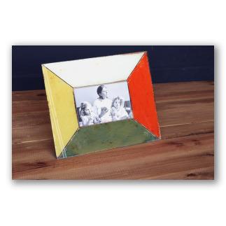 Marco de fotos cristal colores estilo retro. D4002