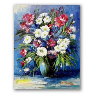 Cuadros De Flores Pinturas Al óleo Sobre Tela