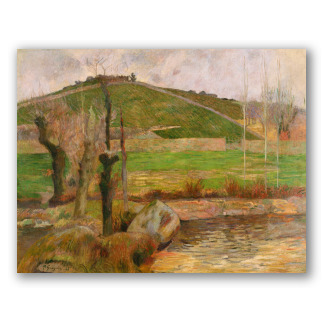 """""""Paisaje cerca de Pont-Aven"""" de Gauguin"""