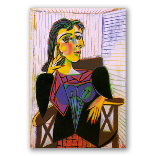 Retrato de Dora Maar - Picasso