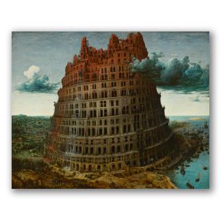 """""""La Torre de Babel"""" de Bruegel"""