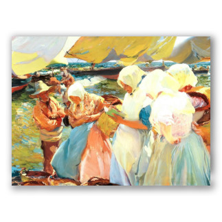 Valencian Women on the Beach